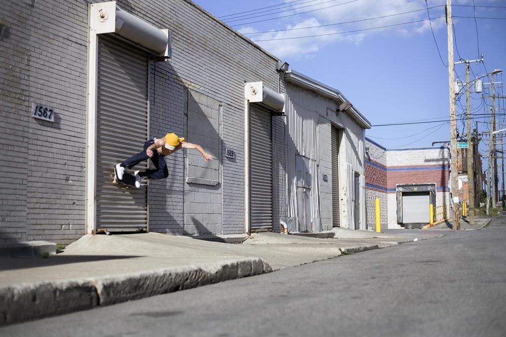 Alex O' Donahoe- wallride-Detroit