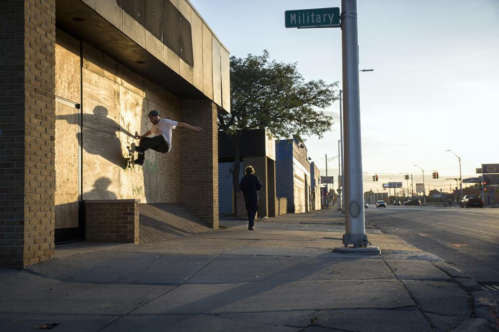 Harrison Hafner-fs wallride-Detroit