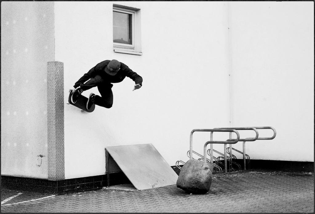 Pat Lindenberger- wallride nosegrab-Hamburg